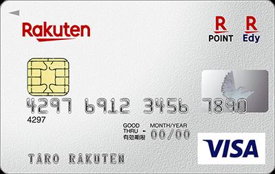 楽天カード_rakuten_VISA券面